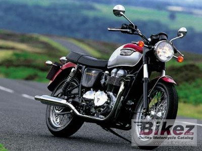 2001 Triumph Bonneville Specifications And Pictures