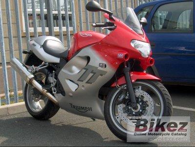 2001 triumph tt 600 specifications and pictures rh bikez com 2001 Triumph 955I 2001 Triumph TT600 Fairing Kit