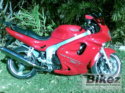 2002 triumph sprint st specifications and pictures