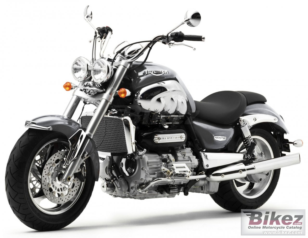 Big Triumph rocket iii picture and wallpaper from Bikez.com