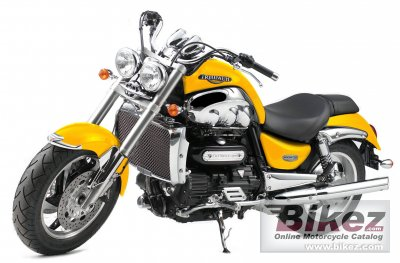 2006 Triumph Rocket III specifications and pictures