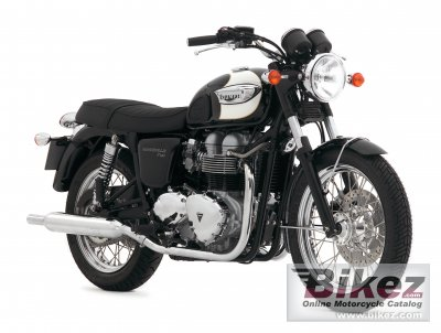 2007 Triumph Bonneville T100 photo