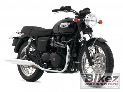 2007 Triumph Bonneville Black photo