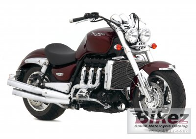 2007 Triumph Rocket III specifications and pictures