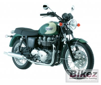 2008 Triumph Bonneville T100 photo