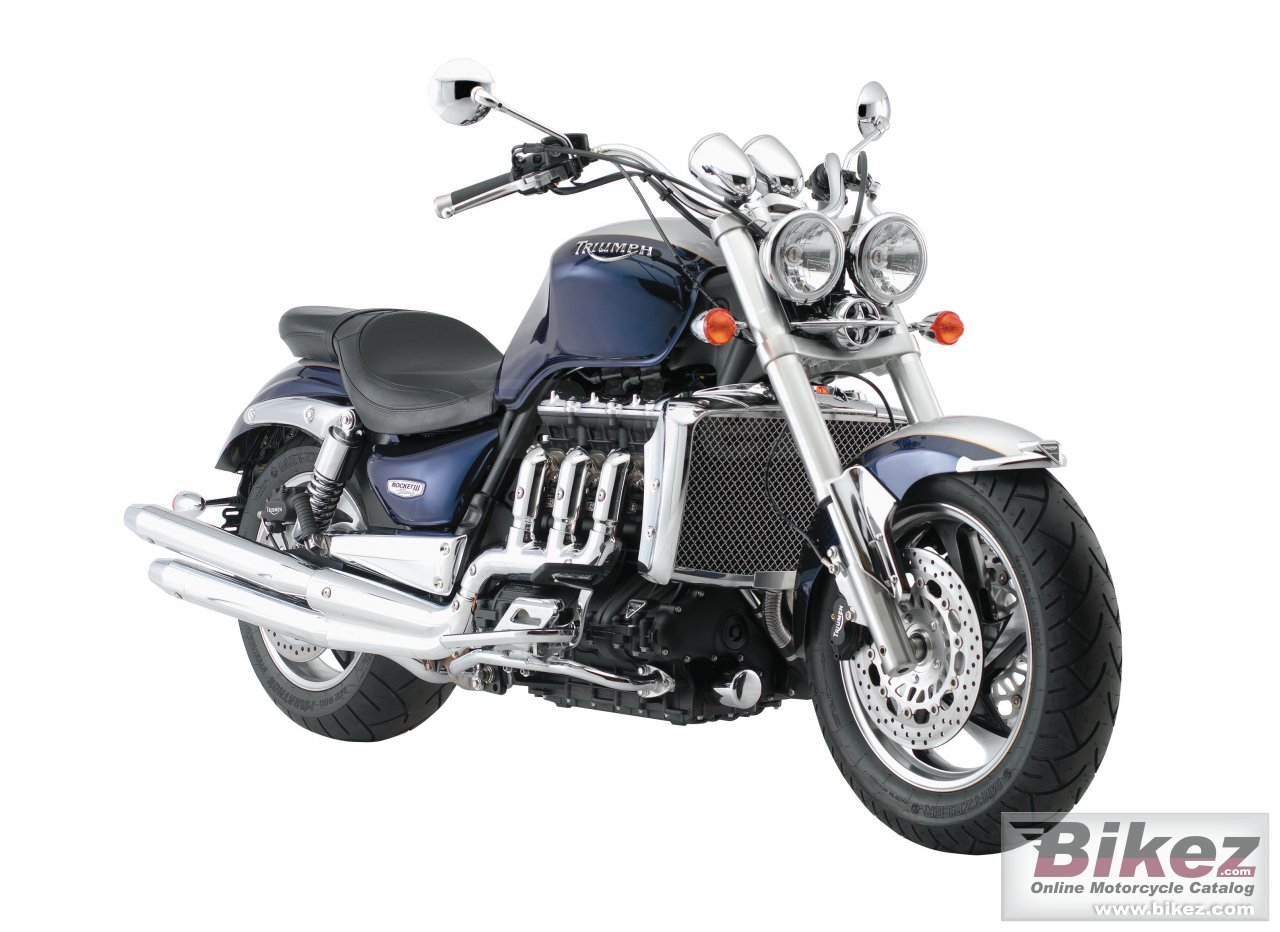 Big Triumph rocket iii classic picture and wallpaper from Bikez.com