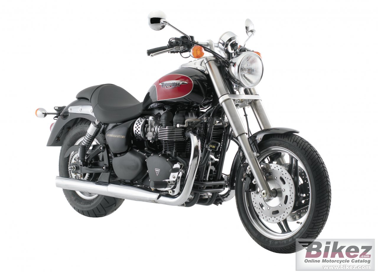 Big Triumph speedmaster picture and wallpaper from Bikez.com