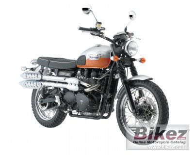 2008 Triumph Scrambler photo