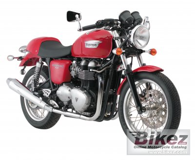 2008 Triumph Thruxton photo
