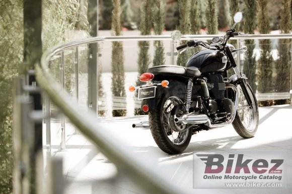 2008 Triumph Bonneville Black photo