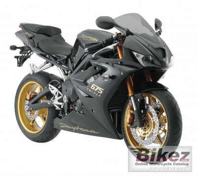 2008 Triumph Daytona 675 Se Specifications And Pictures