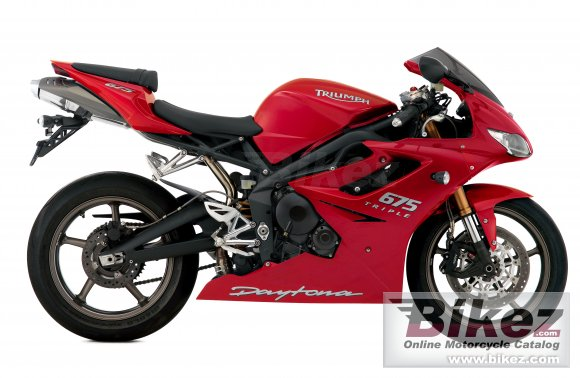 2009 Triumph Daytona 675 photo