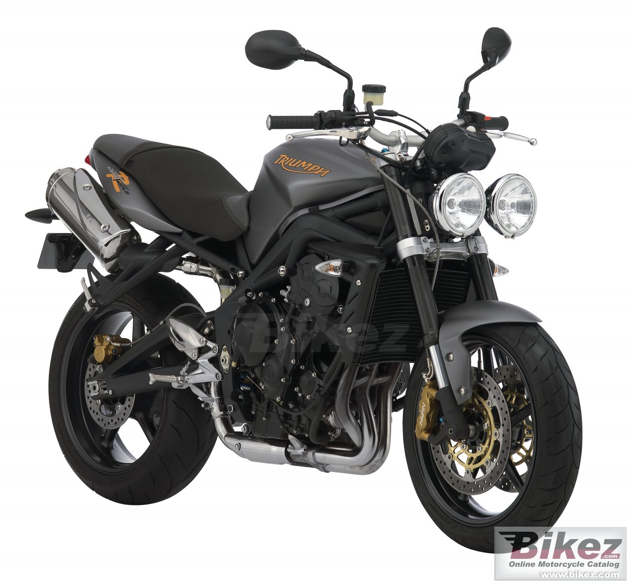 Big Triumph street triple r picture and wallpaper from Bikez.com