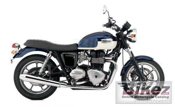 2009 Triumph Bonneville SE photo