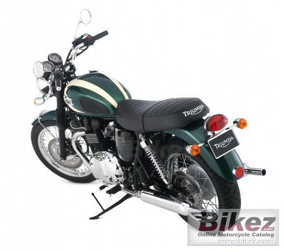 2009 Triumph Bonneville T100 photo