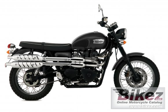 2009 Triumph Scrambler photo