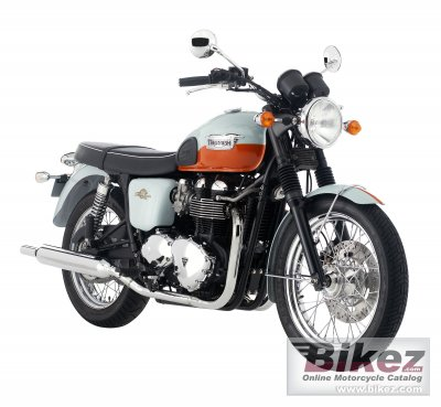 2009 Triumph Bonneville 50th photo