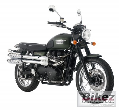 2009 Triumph Scrambler specifications and pictures