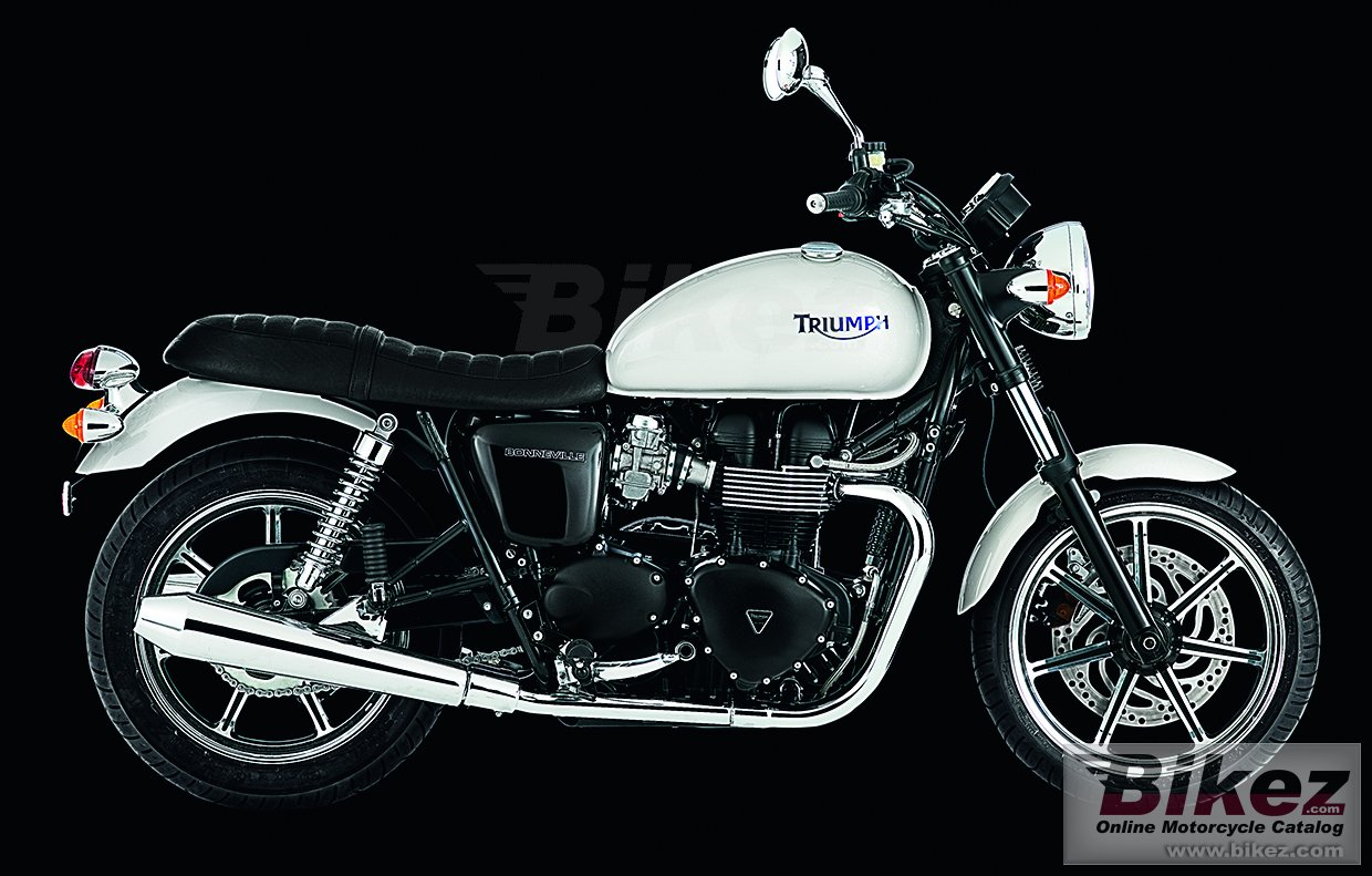 Big Triumph bonneville picture and wallpaper from Bikez.com