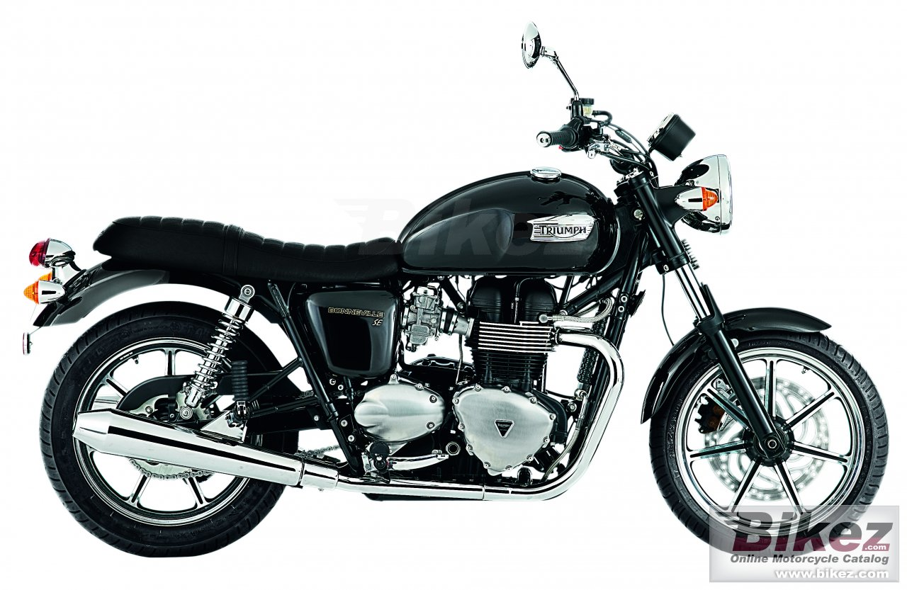 Big Triumph bonneville se picture and wallpaper from Bikez.com