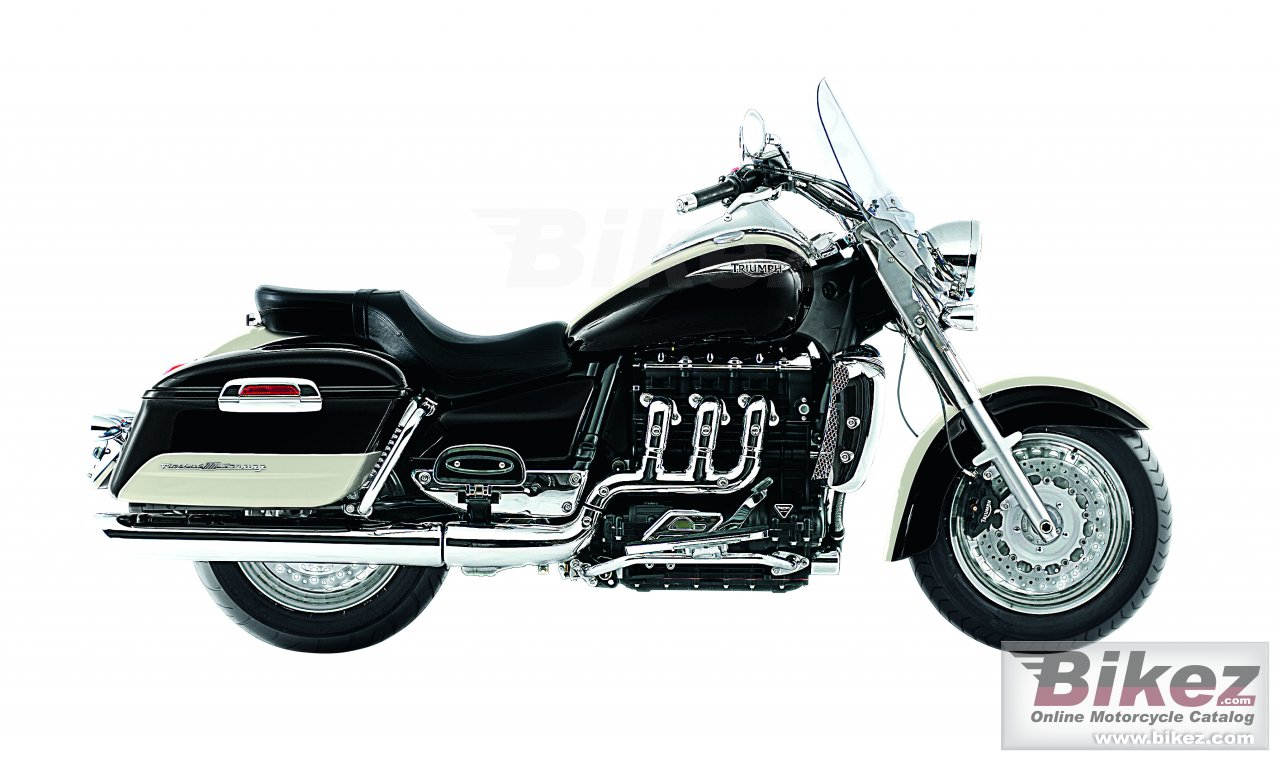 Big Triumph rocket iii touring picture and wallpaper from Bikez.com