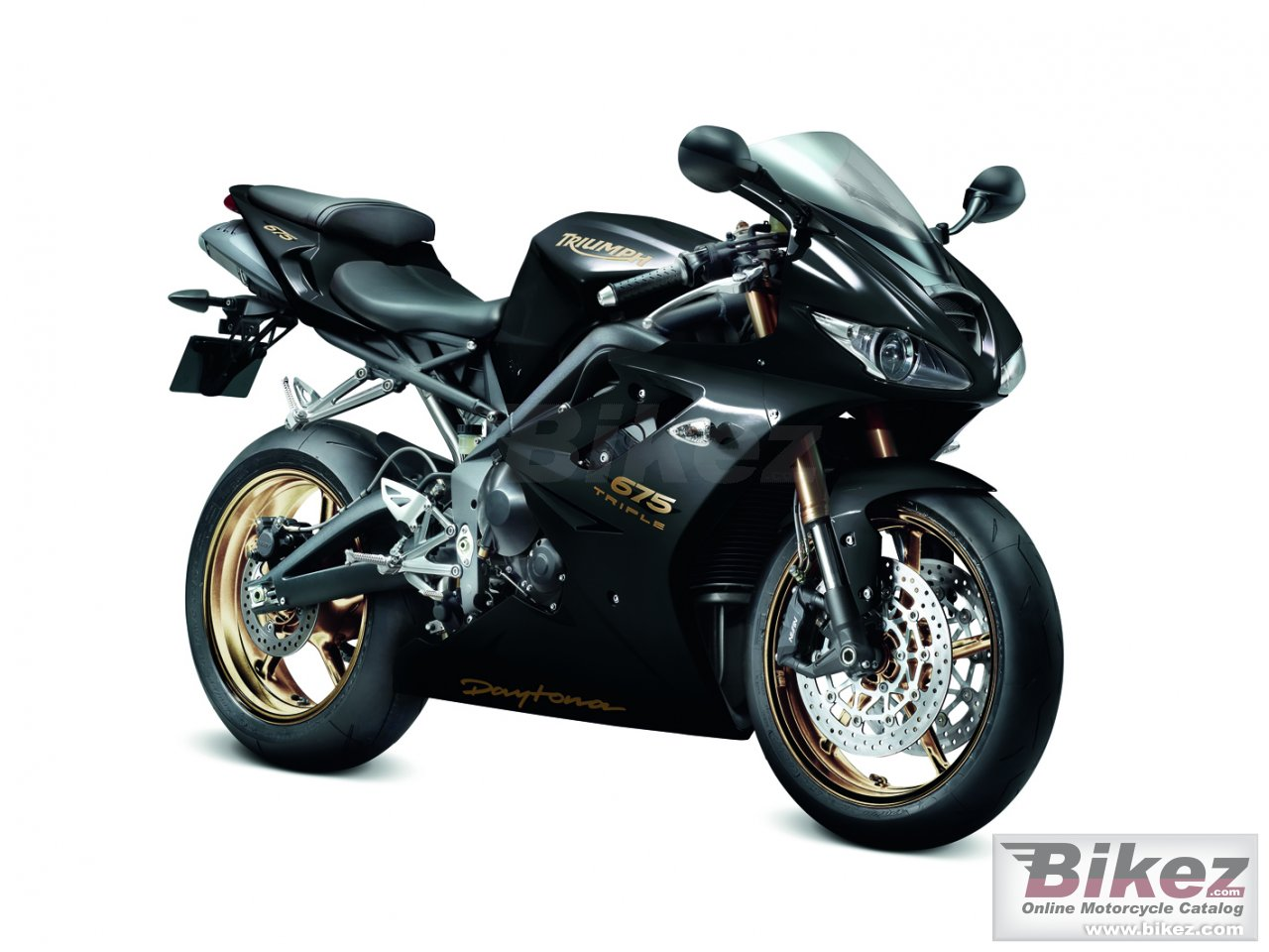 Big Triumph daytona 675 picture and wallpaper from Bikez.com