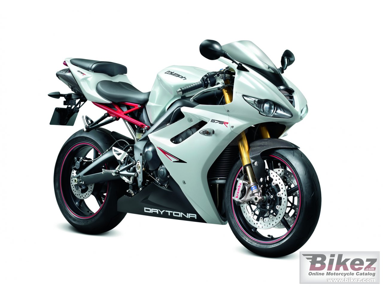 Big Triumph daytona 675 r picture and wallpaper from Bikez.com