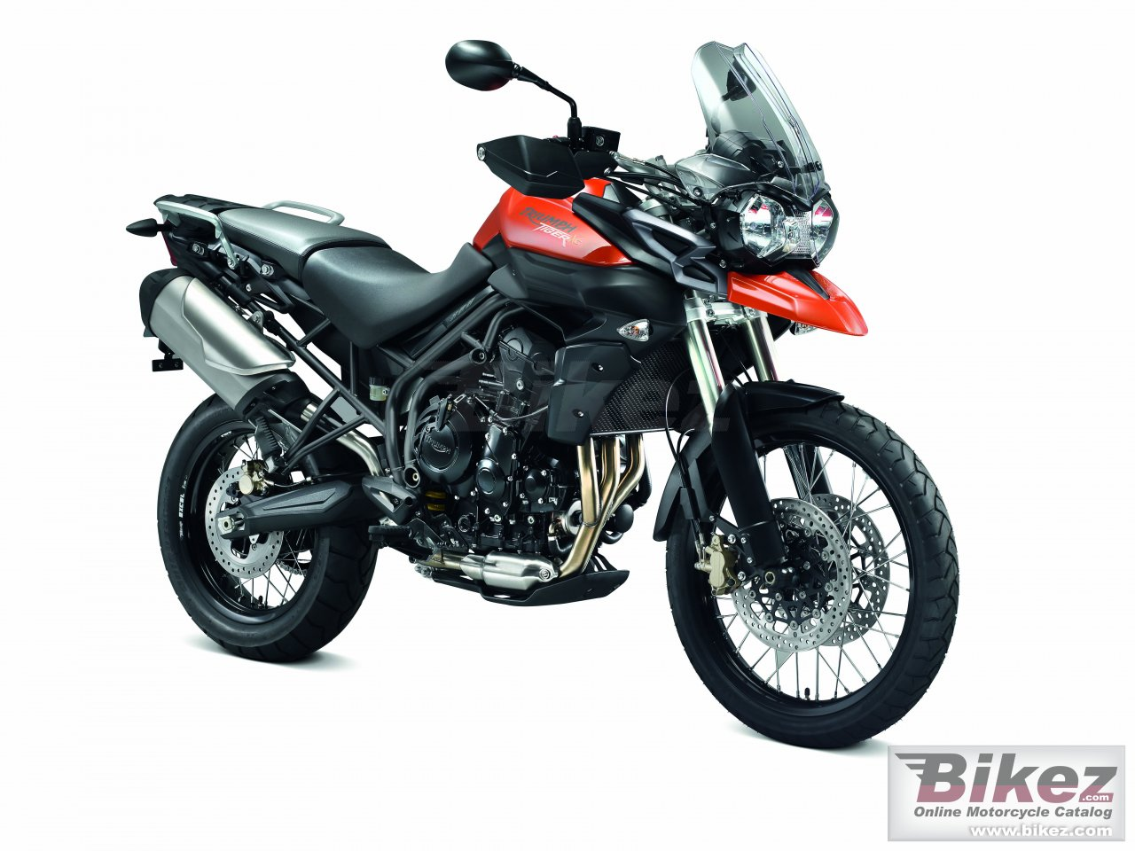 Big Triumph tiger 800xc picture and wallpaper from Bikez.com