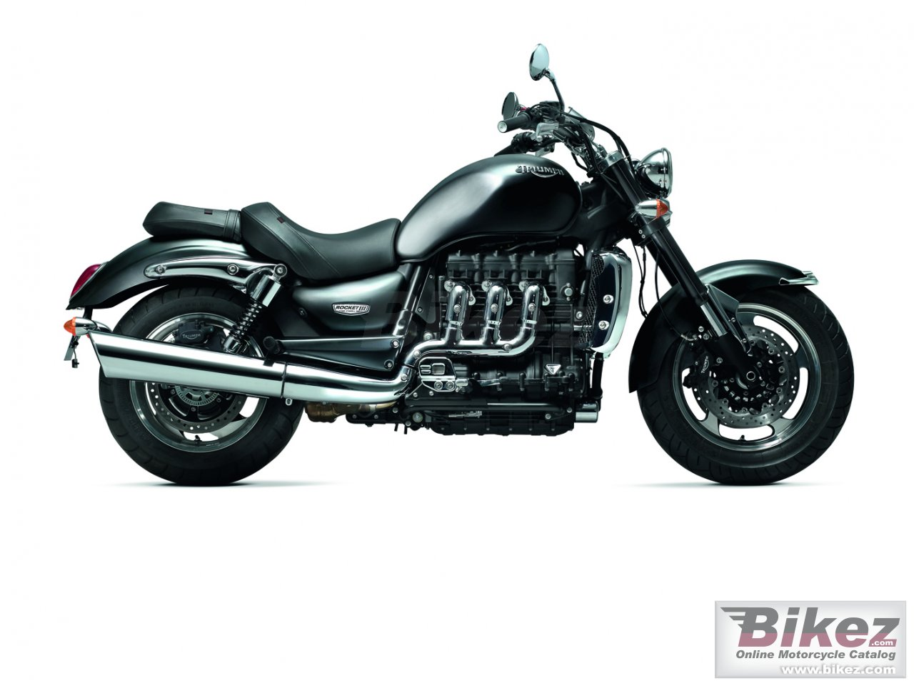 Big Triumph rocket iii roadster picture and wallpaper from Bikez.com