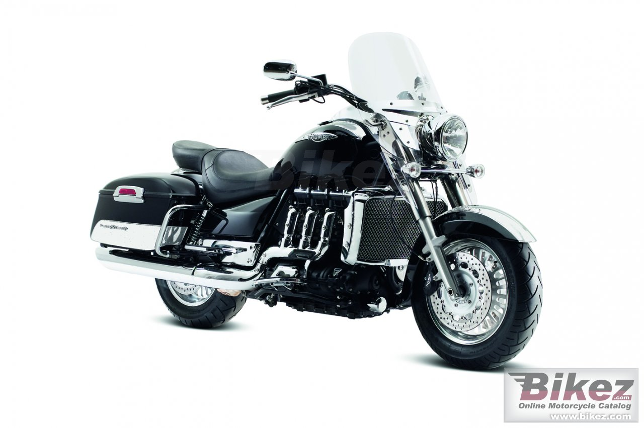 Big Triumph rocket iii touring abs picture and wallpaper from Bikez.com