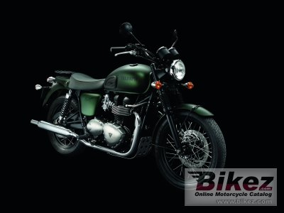 2012 Triumph Bonneville T100 Steve McQueen photo