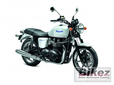 2012 Triumph Bonneville specifications and pictures