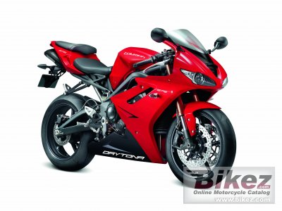 2012 Triumph Daytona 675 Specifications And Pictures