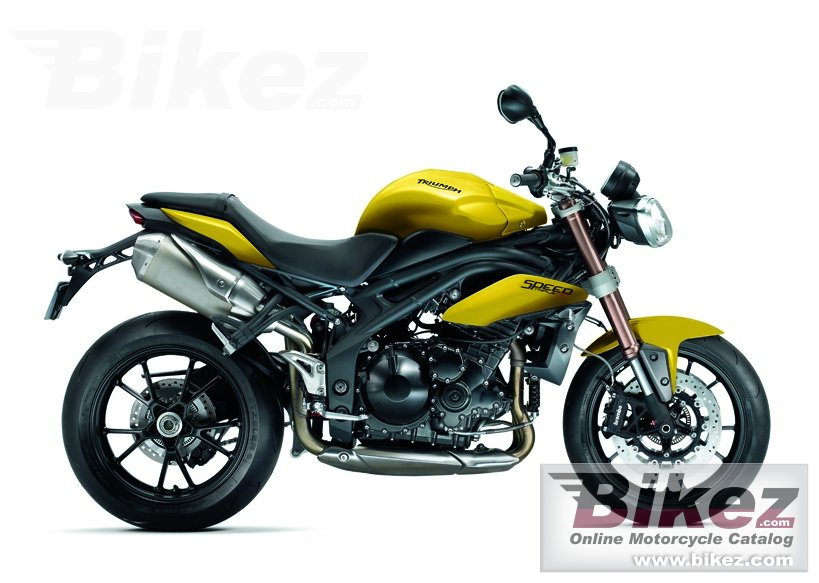 Big Triumph speed triple picture and wallpaper from Bikez.com