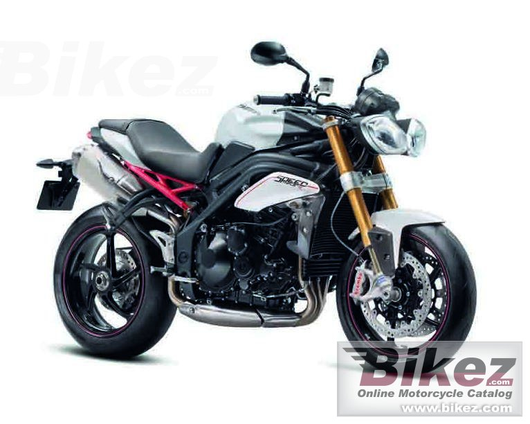 Big Triumph speed triple r picture and wallpaper from Bikez.com