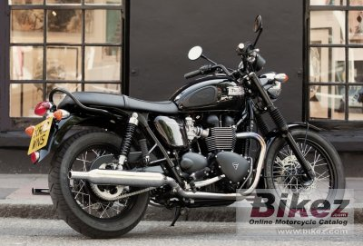 2014 Triumph Bonneville T100 Black Specifications And Pictures