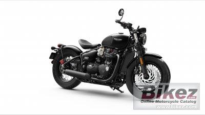 2020 Triumph Bonneville Bobber Black
