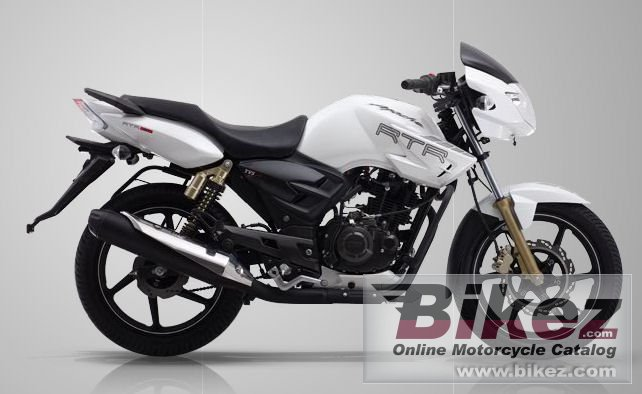 Big TVS apache rtr 180 picture and wallpaper from Bikez.com
