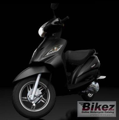 Belt drive motorbike
