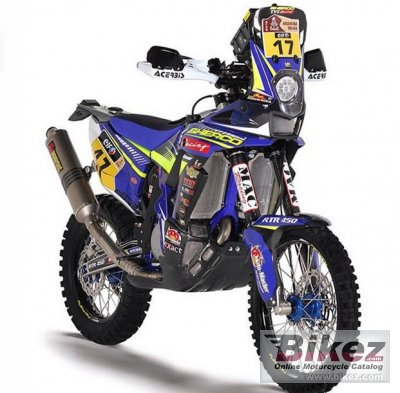 2016 TVS RTR 450 AT Dakar