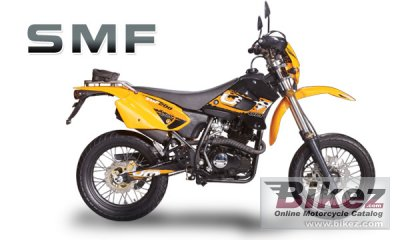 2010 UM SMF II 125 specifications and pictures