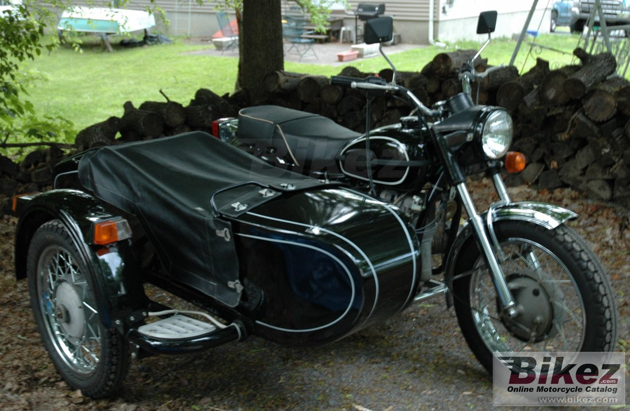 Michael Daecher m-63 (with sidecar)