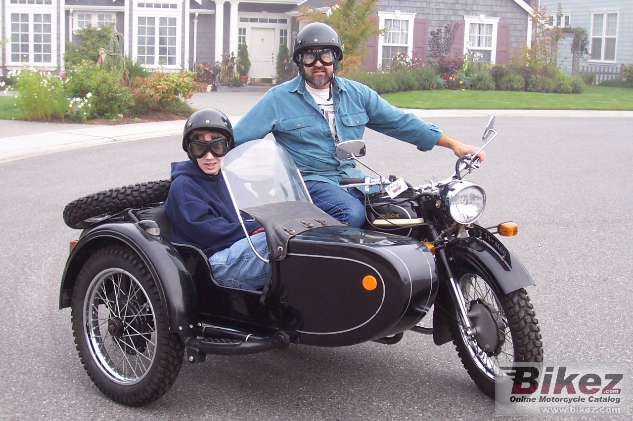 Ural M 66 (with sidecar)