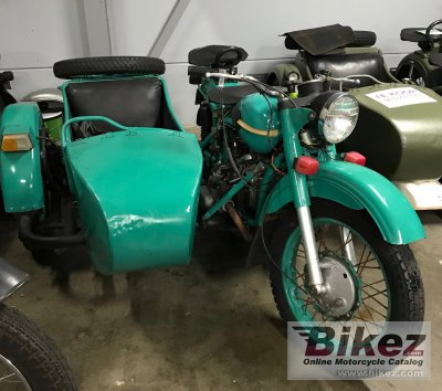 1978 Ural M-63 (with sidecar)