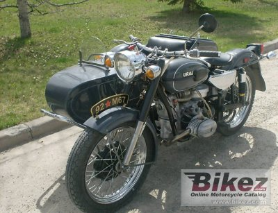 1992 Ural M 67-6 (with sidecar)