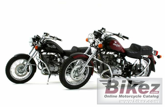 Big ural motors co. solo picture and wallpaper from Bikez.com
