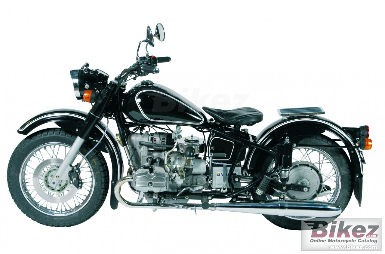 Big Ural retro solo 750 picture and wallpaper from Bikez.com