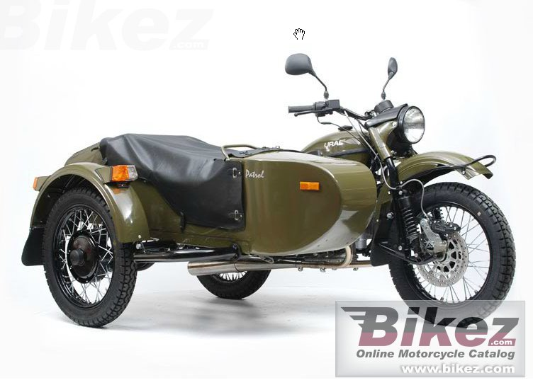 Big Ural patrol t picture and wallpaper from Bikez.com