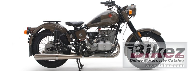 Big Ural m70 solo picture and wallpaper from Bikez.com