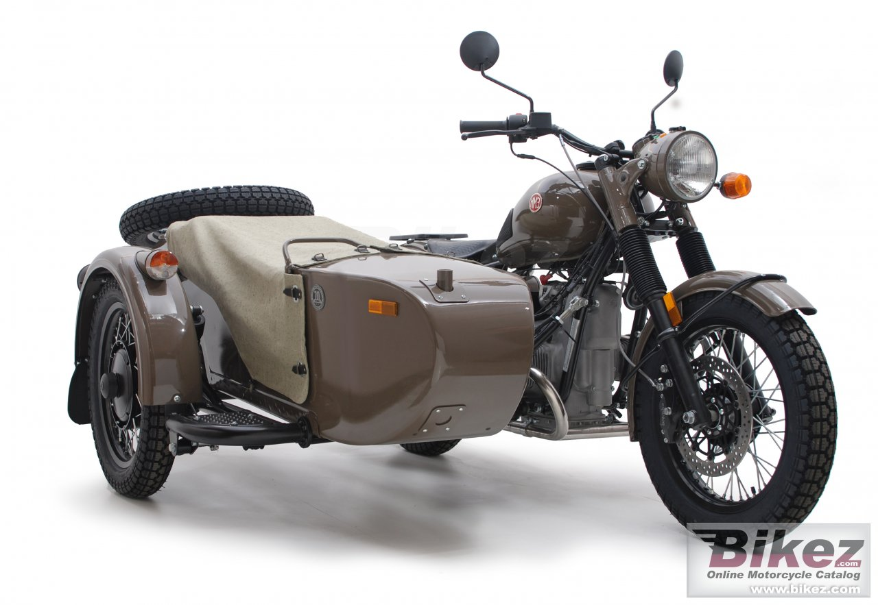 Big Ural m70 anniversary edition picture and wallpaper from Bikez.com